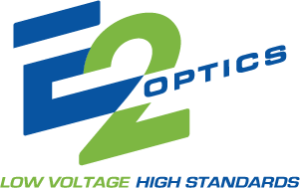 E2 Optics logo