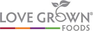 Love Grown Foods logo