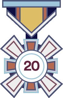 2020 CCTW Medal